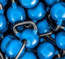 Kettlebells BLUE Sticker
