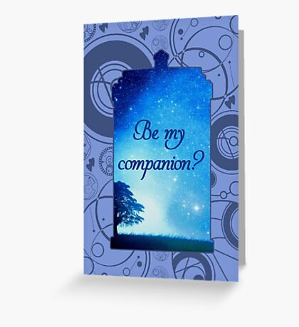 Be My Companion? Greeting Card