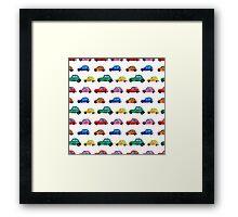 Italian cars Framed Print