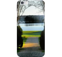 James River and the Berkeley Plantation iPhone Case/Skin