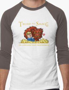 Trump and Smaug: An Unexpected Friendship Men's Baseball ¾ T-Shirt