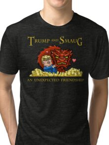 Trump and Smaug: An Unexpected Friendship Tri-blend T-Shirt