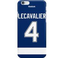 Tampa Bay Lightning Vincent Lecavalier Jersey Back Phone Case iPhone Case/Skin