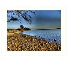 James River at Berkeley Plantation, Virginia Art Print