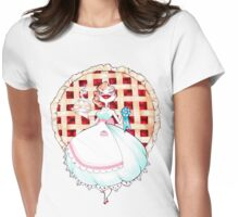 Lord Of The Pie Pinup Cute Deadly Pie Maker Womens Fitted T-Shirt