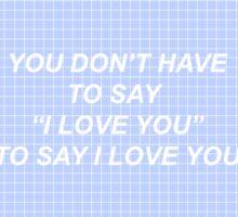 Troye Sivan- for him. Sticker