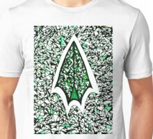 Abstract Green Arrow Unisex T-Shirt