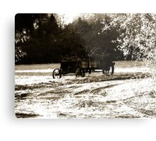 Cart at Berkeley Plantation, James River Metal Print
