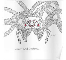 Matrix Search And Destroy (ink Sentinel) Poster