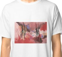 Calligraphy, abstract expressionism Classic T-Shirt