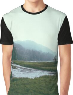 Stream in the Mist Graphic T-Shirt