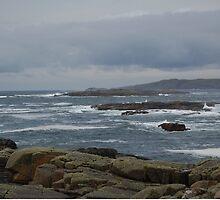 Cliften Bay Connemara Galway by Declan Carr