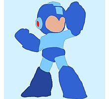 Simple Mega Man Photographic Print