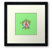 tree water color Framed Print