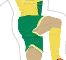 Jonny Howson (vs Villa) Sticker