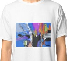 Blue 2, abstract expressionism Classic T-Shirt