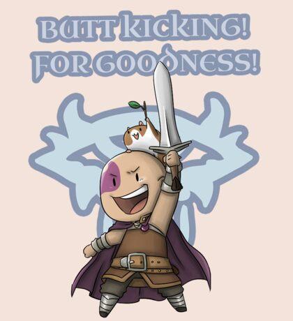 Butt Kicking! Sticker