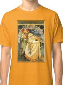 Alfons Mucha Princess Hyacinth Classic T-Shirt
