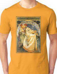Alfons Mucha Princess Hyacinth Unisex T-Shirt