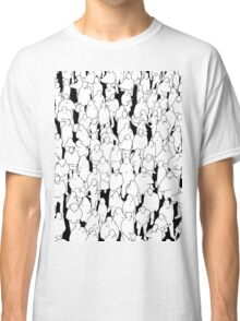 Public assembly B&W Classic T-Shirt