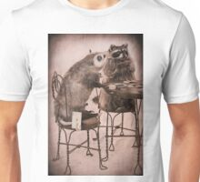 Opossum playing poker hiding Ace Unisex T-Shirt