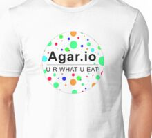 Agar.io U R WHAT U EAT (circle) Unisex T-Shirt