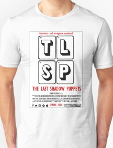 The Last Shadow Puppets - Film Poster T-Shirt