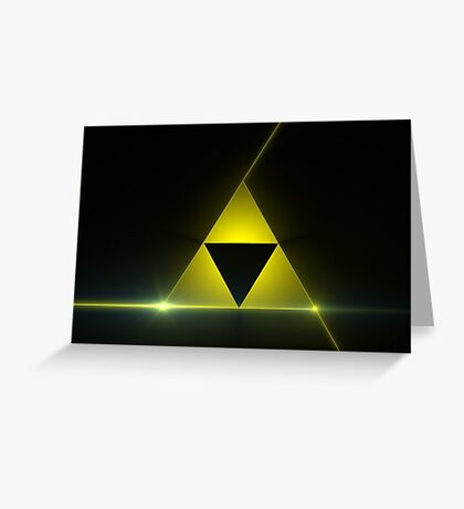 Triforce Zelda Goodie's Greeting Card