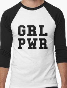 GRL PWR Men's Baseball ¾ T-Shirt