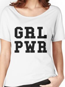 GRL PWR Women's Relaxed Fit T-Shirt