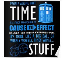 Doctor Who Time Quotes Poster