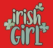 Irish Girl Kids Tee
