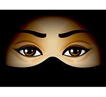 Arabic Eyes Photographic Print