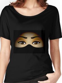 Arabic Eyes Women's Relaxed Fit T-Shirt