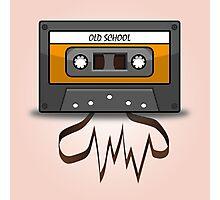 Old School music tape Photographic Print