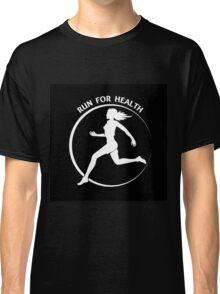 Run for health Emblem Classic T-Shirt