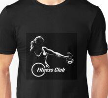 Fitness or Training Emblem  Unisex T-Shirt