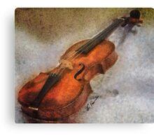 The Violin. Canvas Print