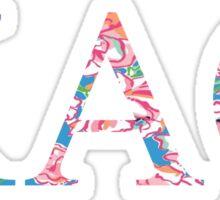 Kappa Alpha Theta - Preppy Sticker