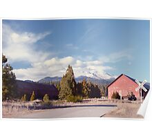 Mount Shasta from McCloud Poster