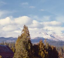 Mount Shasta from McCloud Sticker