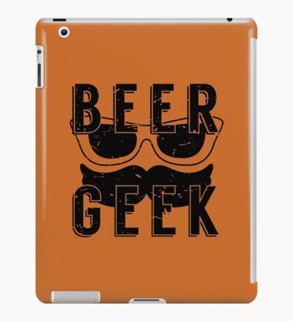 Beer Geek - Vintage Style Beer Poster iPad Case/Skin