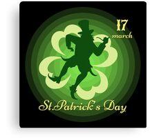 Saint Patricks Day Canvas Print