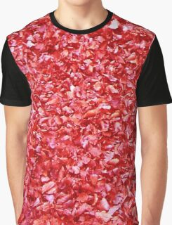 Leaves Red Graphic T-Shirt