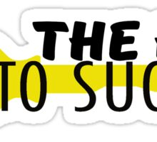 The key to success-dj khaled Sticker