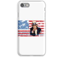 Vote 2016 - The happiness of society is the end of government iPhone Case/Skin