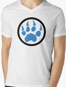 Paw Mens V-Neck T-Shirt