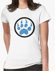Paw Womens Fitted T-Shirt