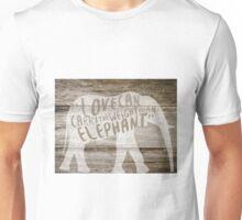 The Weight of an Elephant Unisex T-Shirt