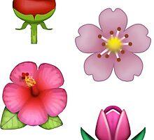 flower emojis by odinsxn